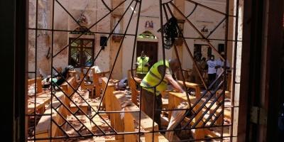 """Gobierno expresó """"su total repudio"""" ante los atentados en Sri Lanka"""