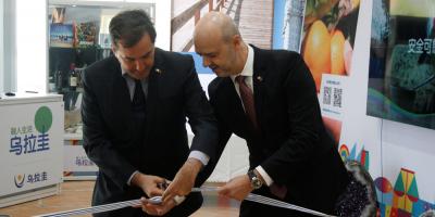 Uruguay abrió pabellón en Expo Beijing, la mayor feria hortícola de Asia