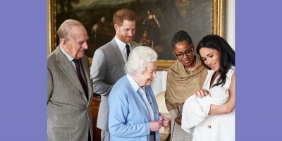 Harry y Meghan anunciaron el singular nombre de su primer hijo a través de la red social Instagram