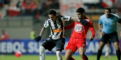 Unión La Calera sorprende y toma ventaja ante el Atlético Mineiro