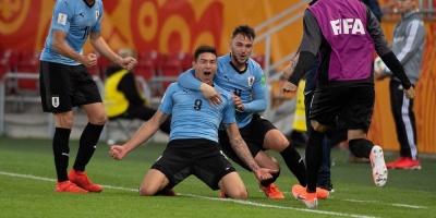 Uruguay le ganó a Noruega 3 a 1