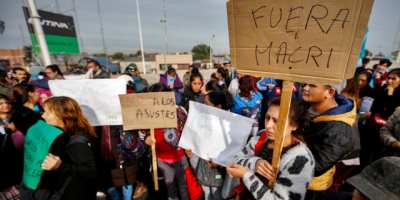 Sindicatos argentinos iniciaron este martes dos días de actos contra el Gobierno de Macri