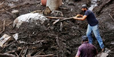 Desborde de un río en el oeste de México deja un muerto y 5 desaparecidos
