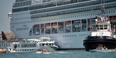 MSC Cruceros reembolsará a los afectados tras el choque con barco en Venecia