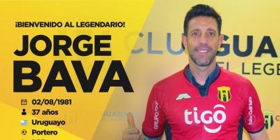 Guaraní ficha al uruguayo Jorge Bava y al paraguayo Rodrigo Alborno