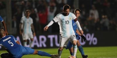 Argentina golea a Nicaragua en su despedida rumbo a la Copa América