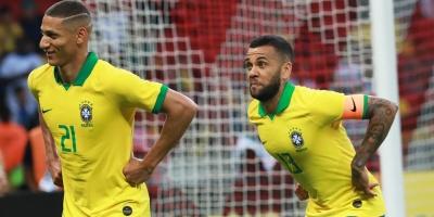 Brasil ya se las arregla sin Neymar y propina máxima goleada en era Tite