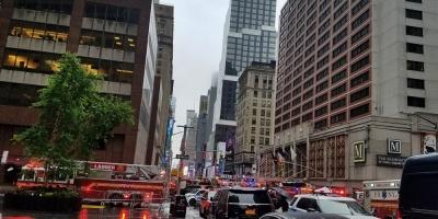 Trump exalta labor de socorristas ante accidente de helicóptero en Nueva York
