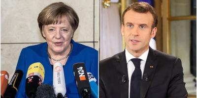 Merkel y Macron aluden al miedo profundo que causa robotización de economía