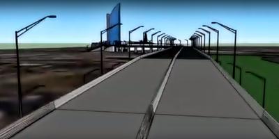 Este miércoles comienzan las obras del viaducto de la rambla portuaria