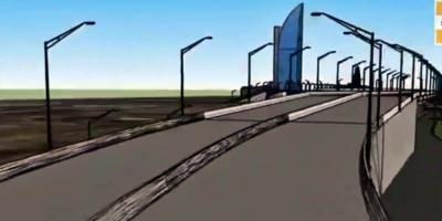 Iniciaron perforaciones para la construcción del viaducto de acceso al puerto