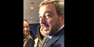 """Bergara califica de """"preocupante"""" la incursión en política de Sartori"""