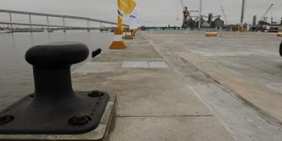 Puerto de Montevideo cuenta con nuevo muelle multipropósito