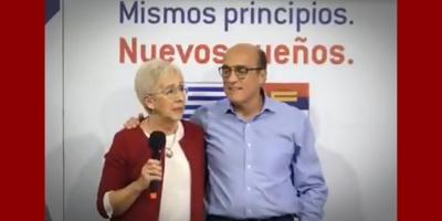 El Plenario del Frente Amplio proclamó la fórmula Daniel Martínez-Graciela Villar