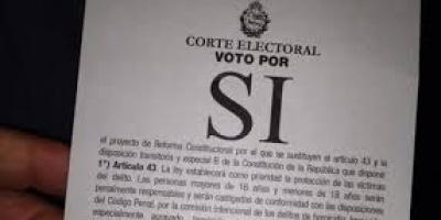 Papeletas del S� ap�crifas no ser�n validadas por la Corte Electoral
