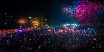 """Frente Amplio cerr� campa�a y V�zquez dijo que el domingo de noche dir� nuevamente """"festejen uruguayos"""""""