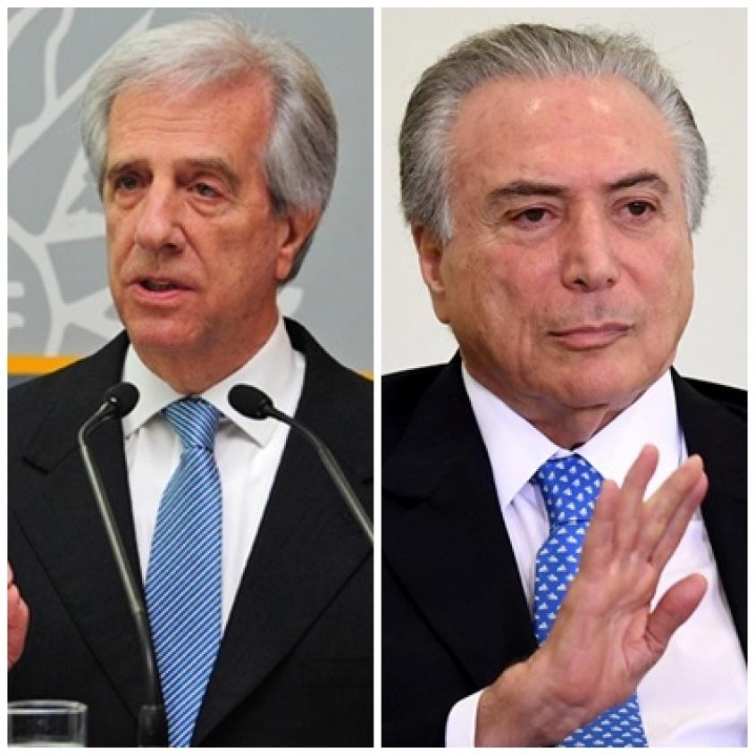 Michel Temer asumió como nuevo presidente de Brasil