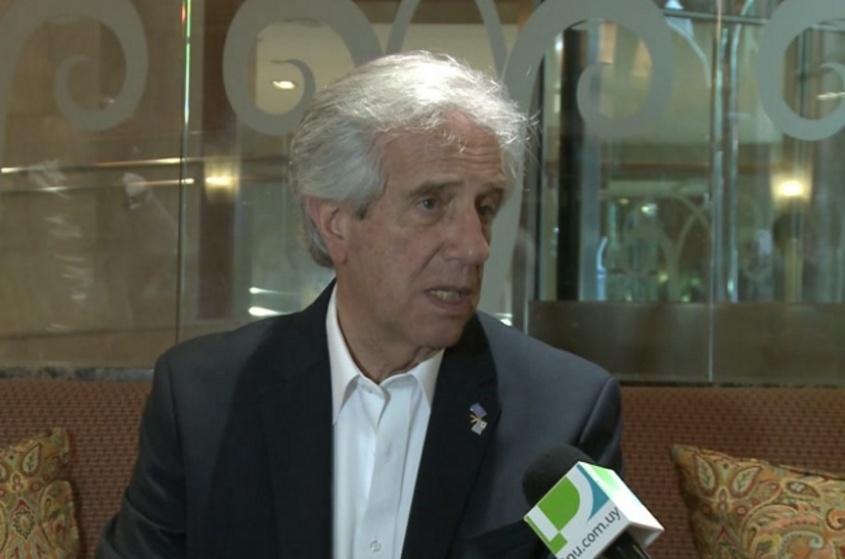 Vázquez: Reino Unido planteó iniciar negociaciones para firmar un TLC con Uruguay