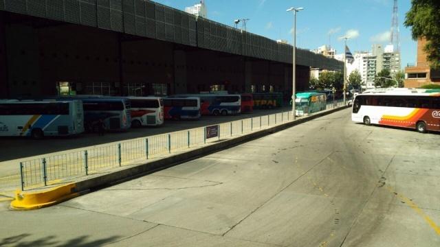URUGUAY: El transporte interdepartamental para este viernes