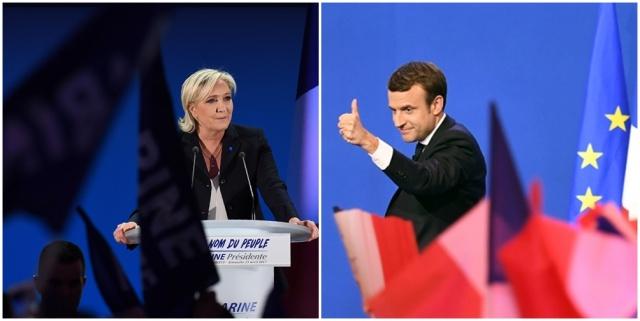 Le Pen confirma una alianza y Macron busca votos del progresismo