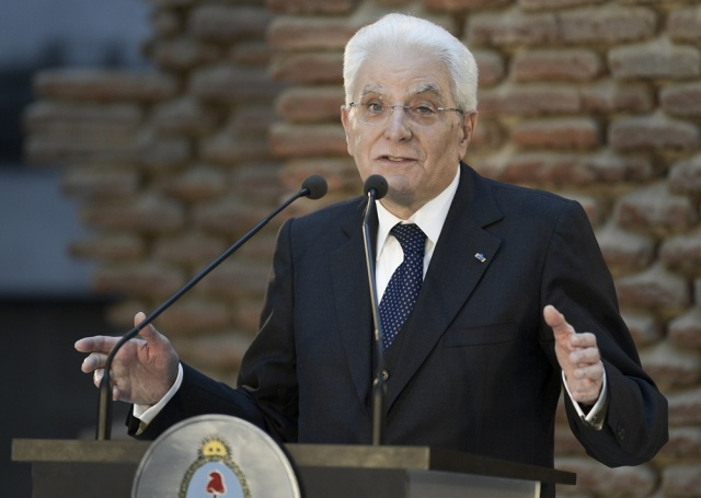 Presidente de Italia visita Uruguay con agenda variada