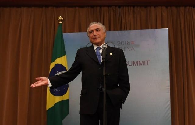 Temer recibe interrogatorio de Policía brasileña en investigaciones por supuesta corrupción