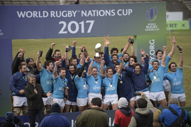 Uruguay logró su primer título World Nations de rugby