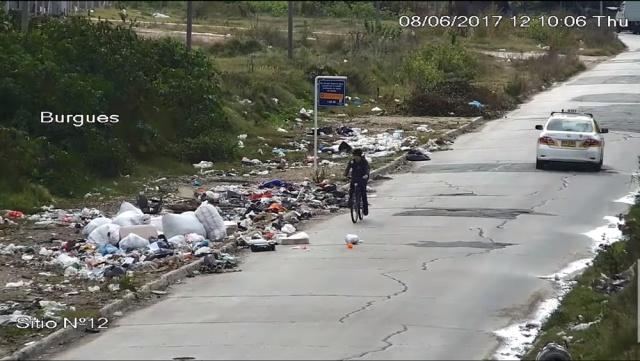 Así tiran basura 1156 personas en lugares ilegales en Montevideo