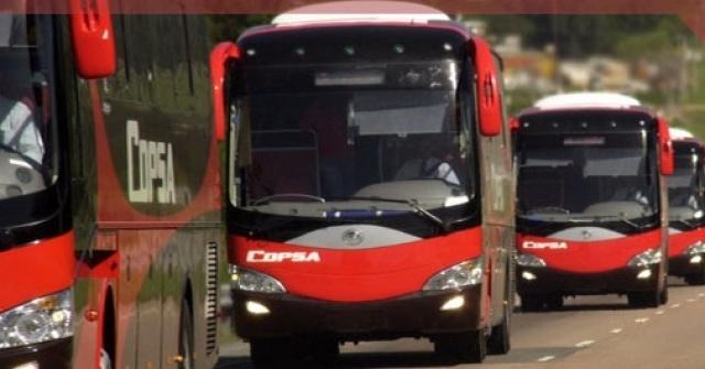 Esta noche comenzará a mermar el servicio de ómnibus urbano y suburbano