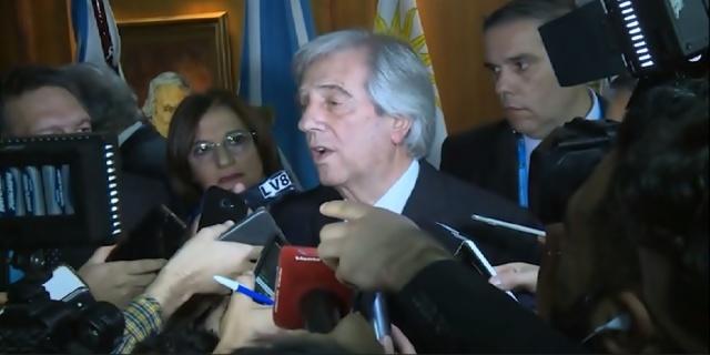 Un 47 % desaprueba la gestión de Tabaré Vázquez — Encuesta Cifra