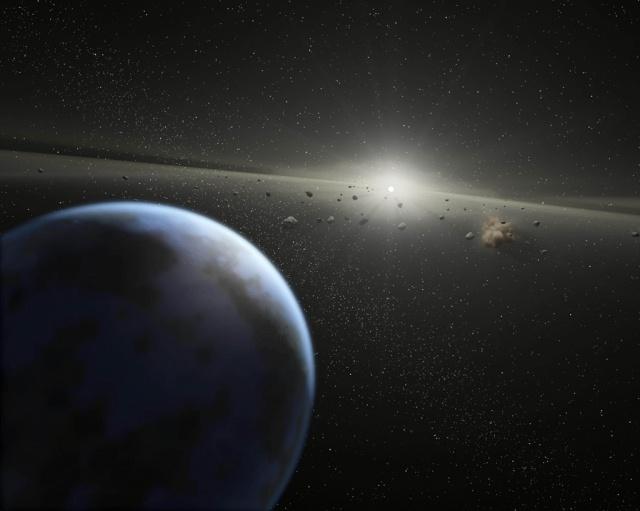 Un enorme asteroide se acerca a la Tierra — Impactante