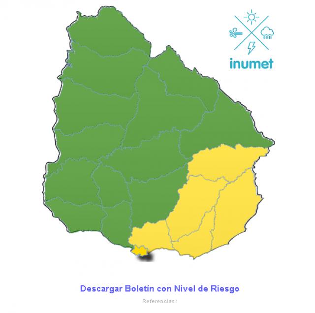 Un muerto y 423 desplazados en Uruguay por lluvias