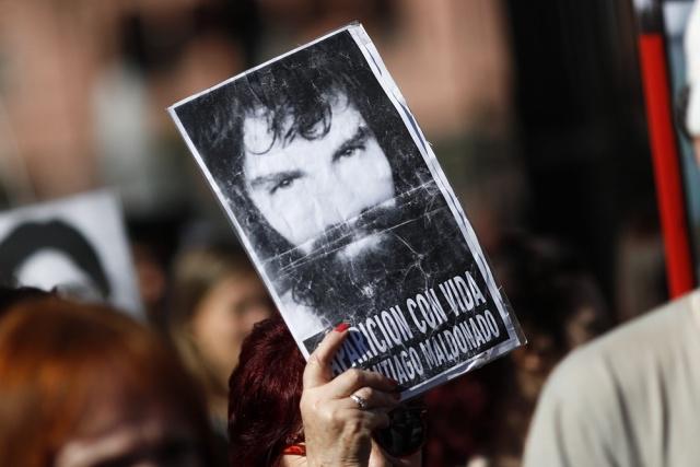 Un gendarme admitió haber disparado a manifestante — Caso Maldonado