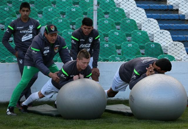 Entradas agotadas en el sector curva para el partido Bolivia Vs. Brasil