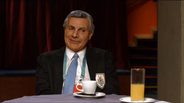 Martín Bossi hizo una desopilante imitación antes del partido de la Selección