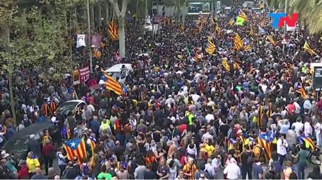 La comunidad internacional no reconoce independencia de Cataluña
