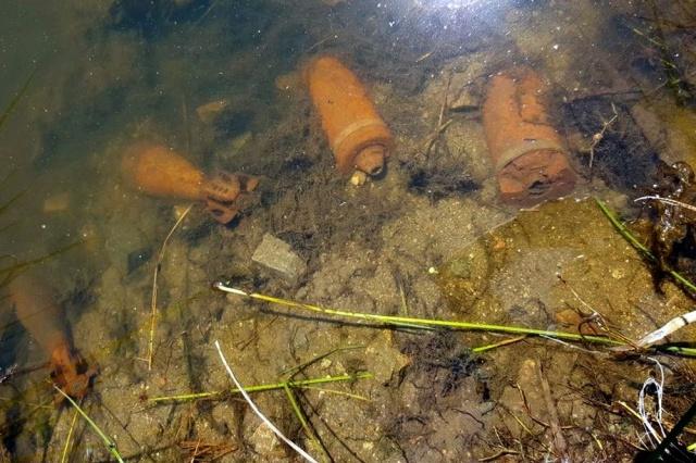 Encuentran municiones de mortero y cañón en arroyo de Uruguay