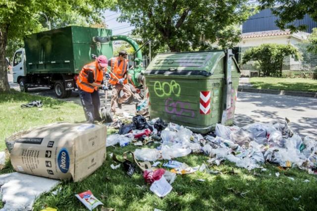 Adeom inició paro que afecta la recolección de residuos