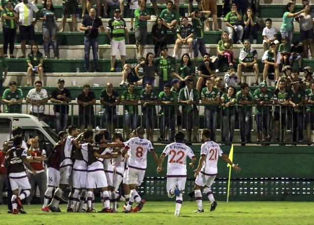 Nacional ganó 1 a 0 ante Chapecoense por Copa Libertadores
