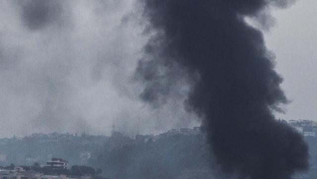 Declaran Alerta Roja para la comuna de Santo Domingo por incendio forestal