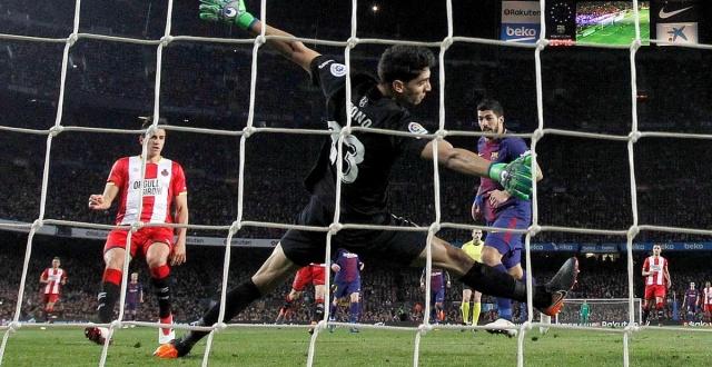 Con triplete de Suárez incluido Barcelona derrota ampliamente al Girona