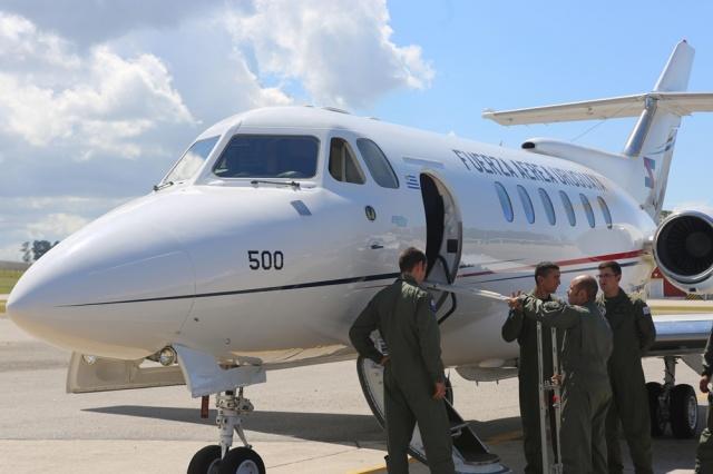 Primer vuelo sanitario en el avión multipropósito