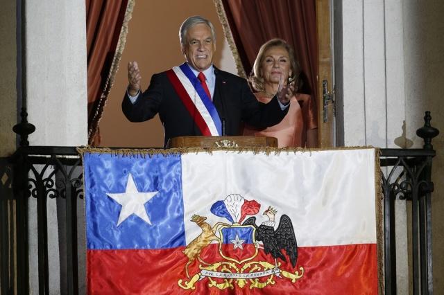 Asume Piñera Gobierno de Chile