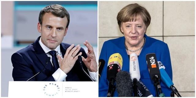 Merkel califica de necesaria y proporcionada la acción militar contra Siria