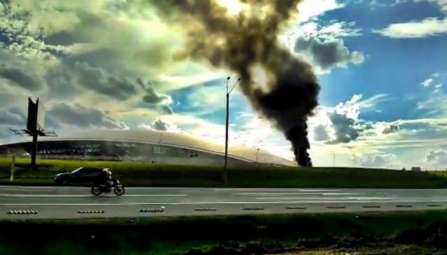 Aeropuerto de Carrasco retoma actividad luego del incendio