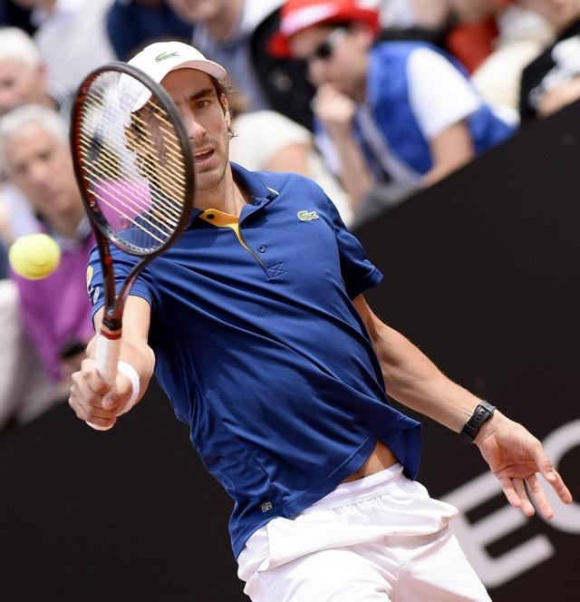 Djokovic barrió a Dolgopolov en la primera ronda de Roma