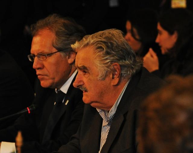"""Pepe Mujica dice que Almagro ya está fuera del Frente Amplio y que """"la función se comió al personaje"""""""