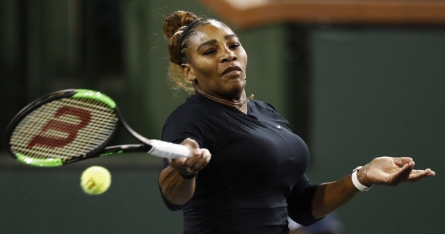 Serena Williams se retira del Masters de Indian Wells