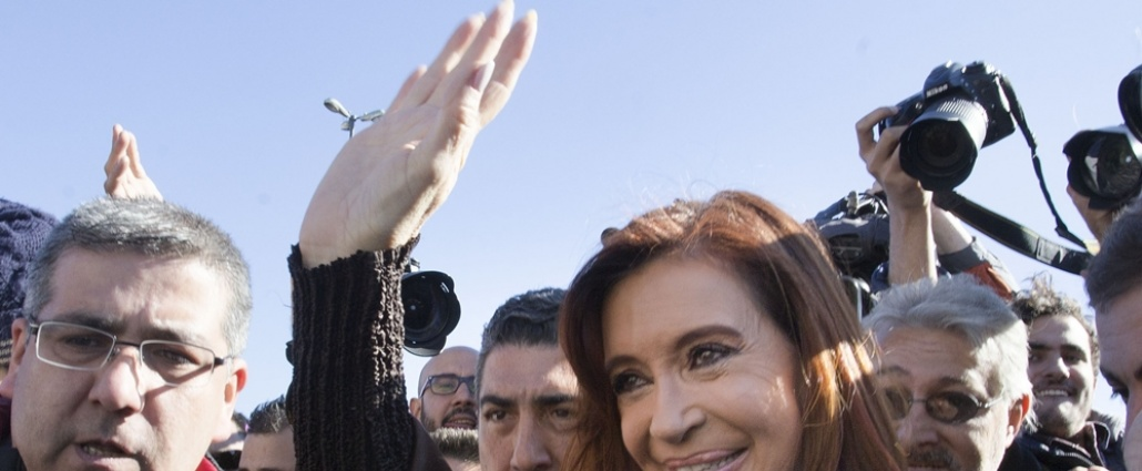 Ex presidenta argentina Cristina Kirchner candidata a senadora