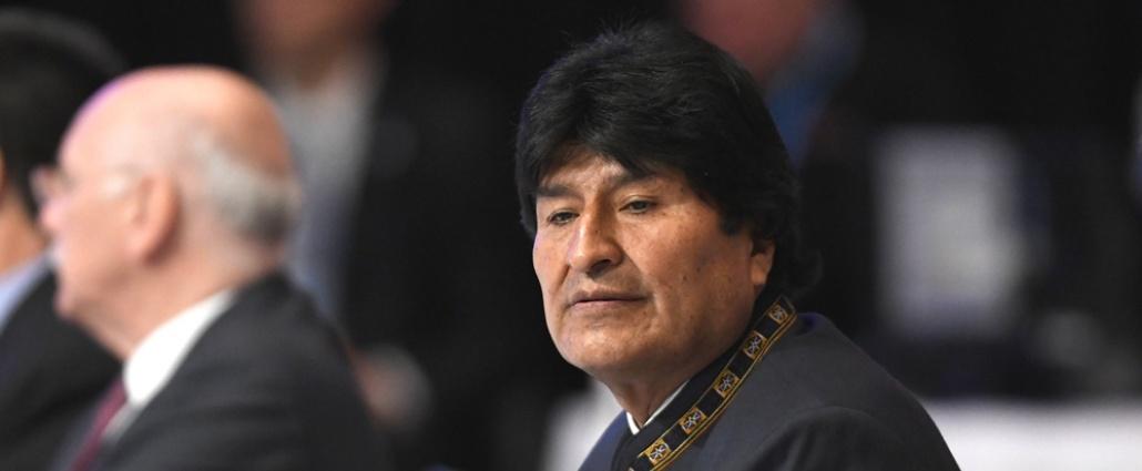 """Evo Morales: Almagro está """"loco"""", porque """"quiere derrocar a Maduro"""""""